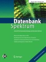 Datenbank-Spektrum 3/2018