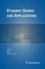 Dynamic Games and Applications 1/2015