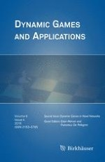 Dynamic Games and Applications 4/2016