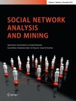 Social Network Analysis and Mining 4/2013