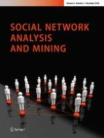 Social Network Analysis and Mining 1/2018