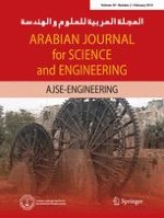 Arabian Journal for Science and Engineering 2/2014