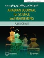 Arabian Journal for Science and Engineering 1/2016