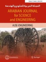 Arabian Journal for Science and Engineering 3/2016