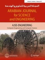 Arabian Journal for Science and Engineering 2/2017