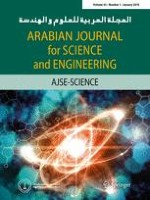 Arabian Journal for Science and Engineering 1/2018