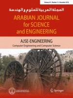 Arabian Journal for Science and Engineering 12/2018