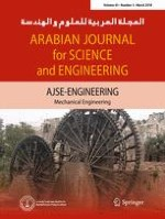 Arabian Journal for Science and Engineering 3/2018