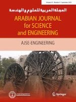 Arabian Journal for Science and Engineering 9/2020