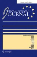 European Actuarial Journal 1/2013