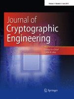 Journal of Cryptographic Engineering 2/2013