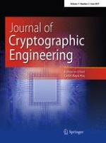 Journal of Cryptographic Engineering 2/2017