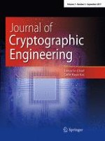 Journal of Cryptographic Engineering 3/2017