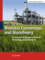 Biomass Conversion and Biorefinery 4/2011