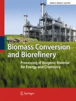 Biomass Conversion and Biorefinery 2/2015