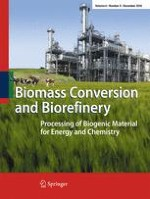 Biomass Conversion and Biorefinery 4/2016