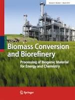 Biomass Conversion and Biorefinery 1/2019