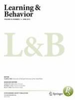Learning & Behavior 2/2015
