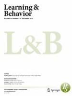 Learning & Behavior 4/2015