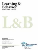 Learning & Behavior 1/2018