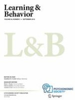 Learning & Behavior 3/2018