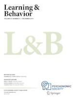 Learning & Behavior 4/2019