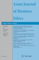 Asian Journal of Business Ethics 1/2021