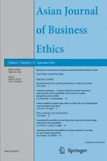 Asian Journal of Business Ethics 1-2/2016