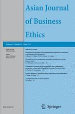 Asian Journal of Business Ethics 1/2017