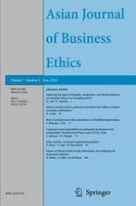 Asian Journal of Business Ethics 1/2018