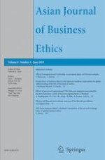 Asian Journal of Business Ethics 1/2019
