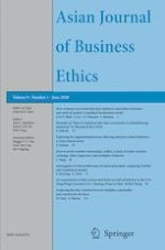 Asian Journal of Business Ethics 1/2020