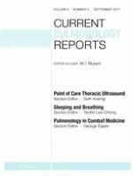 Current Pulmonology Reports 3/2017