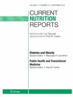 Current Nutrition Reports 4/2014