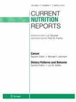 Current Nutrition Reports 1/2016