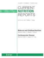 Current Nutrition Reports 1/2020