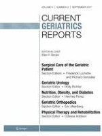 Current Geriatrics Reports 3/2017