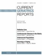 Current Geriatrics Reports 1/2019