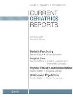 Current Geriatrics Reports 3/2019