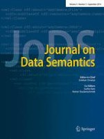 Journal on Data Semantics 3/2014