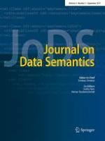 Journal on Data Semantics 3/2015