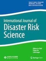 International Journal of Disaster Risk Science 1/2020