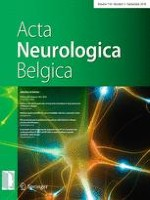 Acta Neurologica Belgica 3/2018