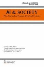 AI & SOCIETY 3/2008