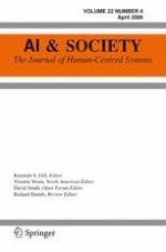 AI & SOCIETY 4/2008