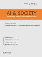 AI & SOCIETY 3/2013