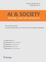 AI & SOCIETY 4/2013