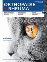 Orthopädie & Rheuma 1/2013