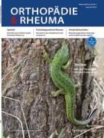 Orthopädie & Rheuma 5/2013