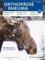 Orthopädie & Rheuma 6/2015